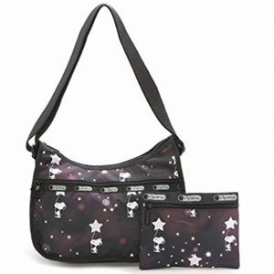 Lesportsac x Peanuts Snoopy in the Stars Hobo